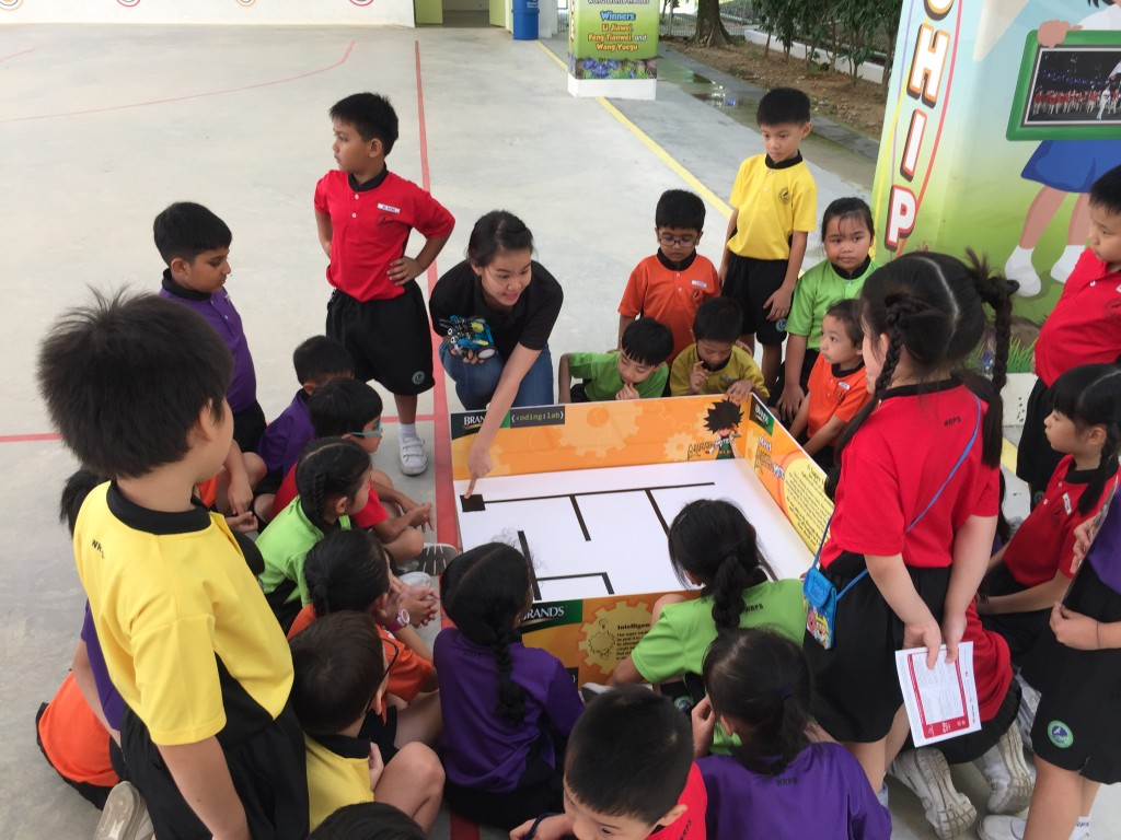 Kids at Woodlands Ring Primary
