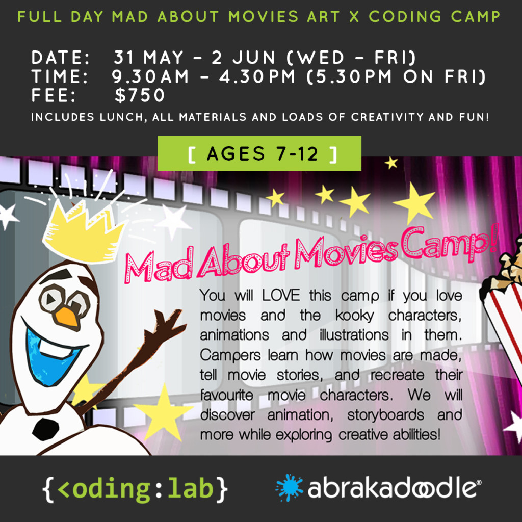 Art x Coding Movie Madness