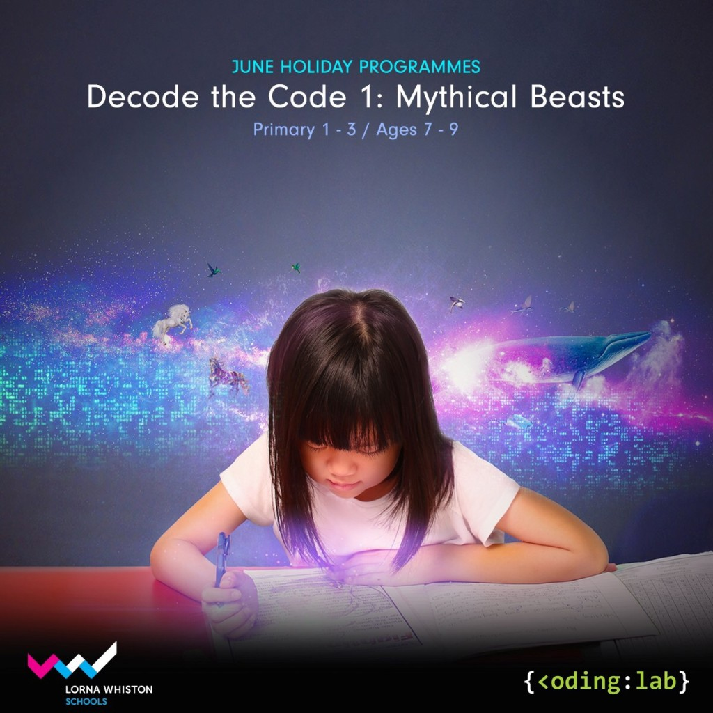 Decoding the Code I - Mythical Beasts (By Lorna Whiston x Coding Lab)