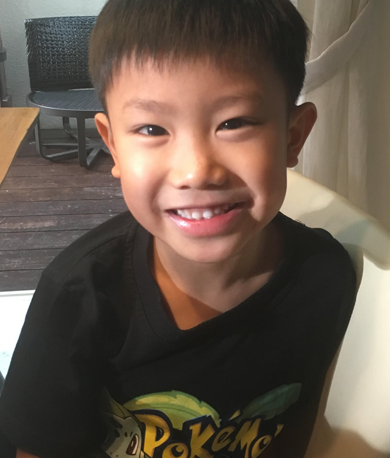 Meet Jun Min, 9, our young coder