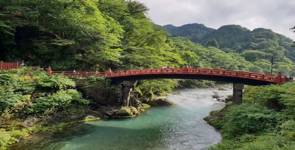 Nikko, Japan - The beautiful Shinkyo Bridge, a UNESCO World Heritage site (One of my favourite places in Tokyo)