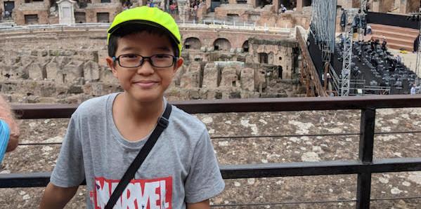Meet Dylan, 11, Python whiz