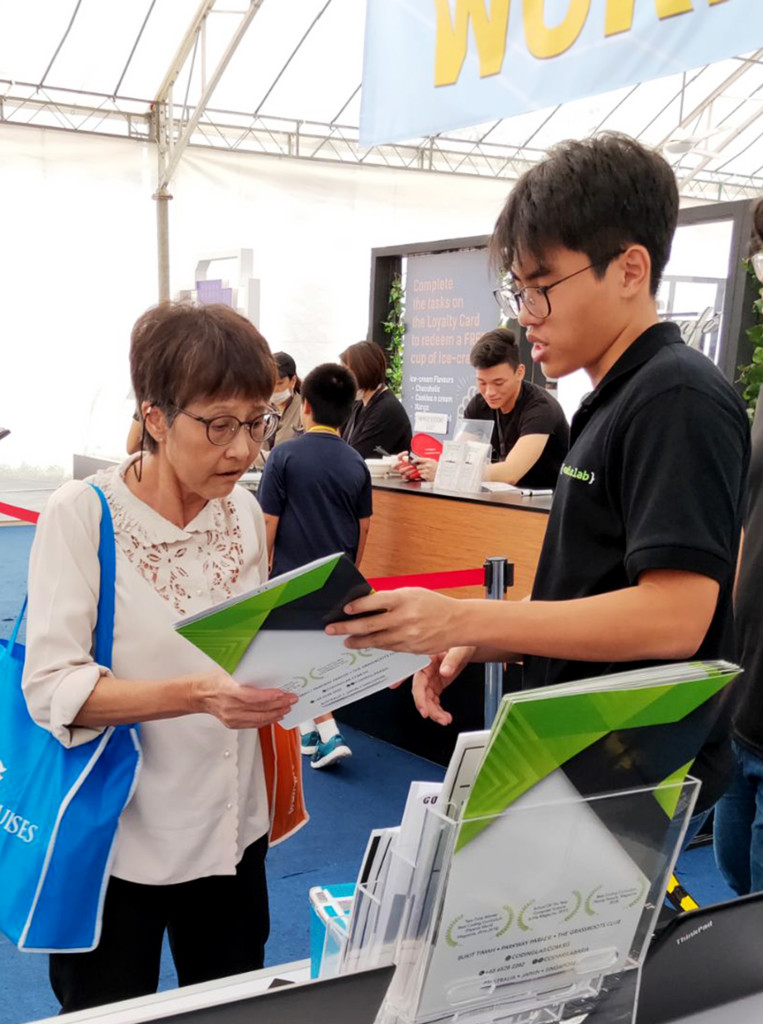 Coding has no age limit – we shared information on coding with people of all ages!