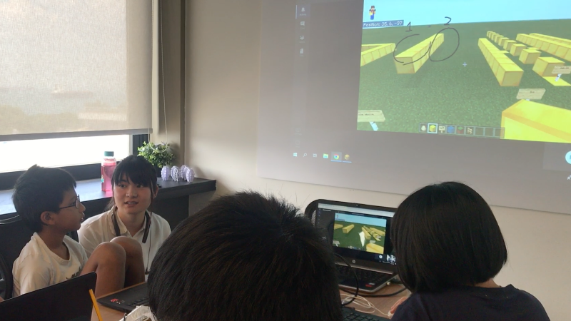 Online Training for Microsoft Minecraft Cup (JPN-SGP), 2019.