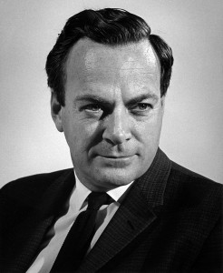 Feynman died at 69, after a long battle with cancer (Photo from Britannica)