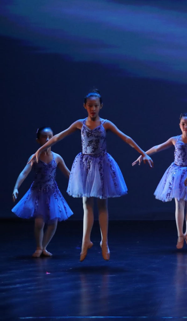 Leah's ballet performance