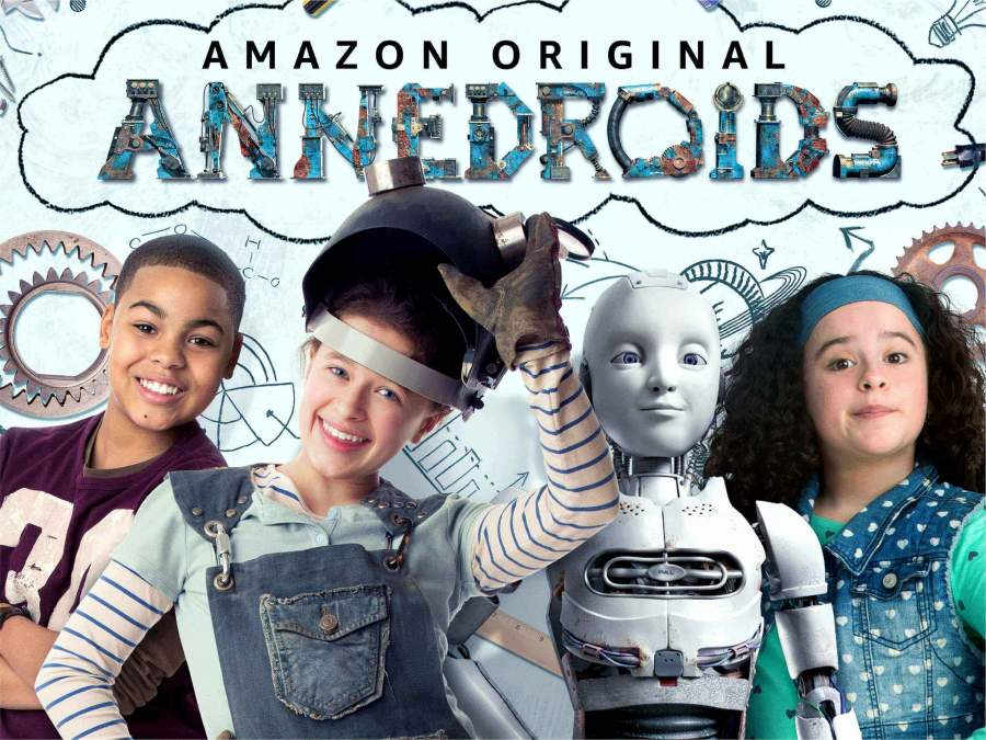 Image for Top 10 STEM Shows Blogpost: Annedroids