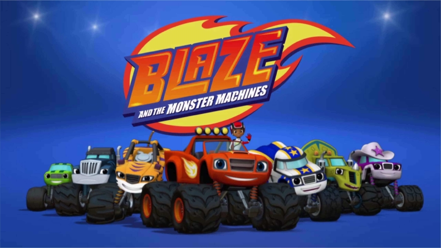 Image for Top 10 STEM Shows Blogpost: Blaze and the Monster Machines