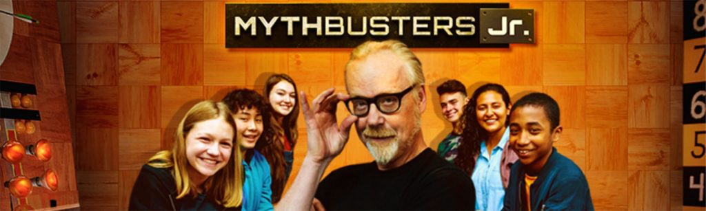 Image for Top 10 STEM Shows Blogpost: Mythbusters Jr