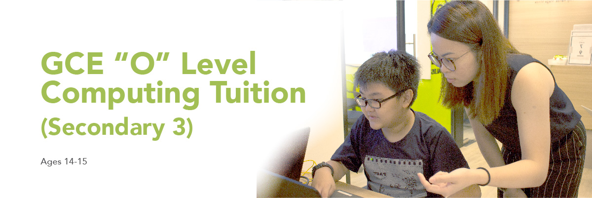 Banner for GCE O levels Tuition