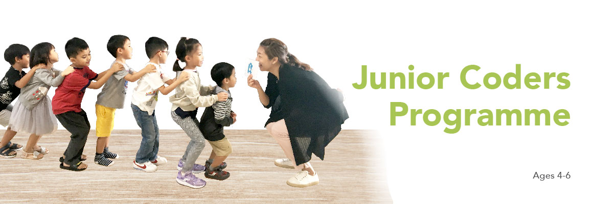 Banner - Junior Coders Programme for Preschoolers