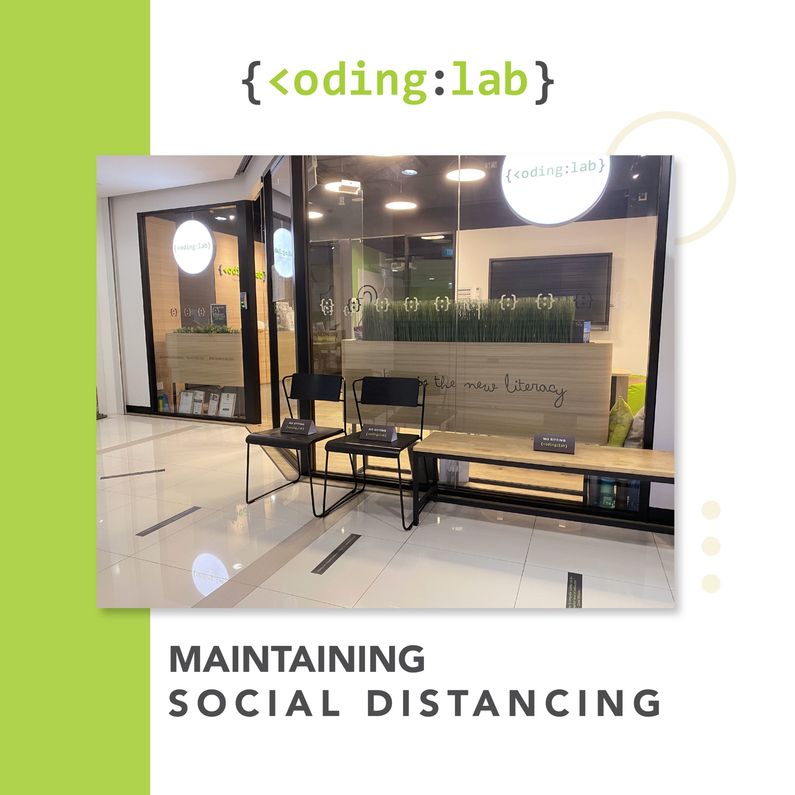 Maintaining social distancing
