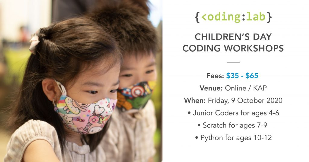 Children's Day Coding Workshops 2020