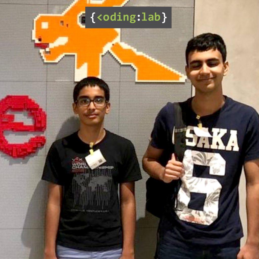 Coding Lab Vayun Silver Medallist