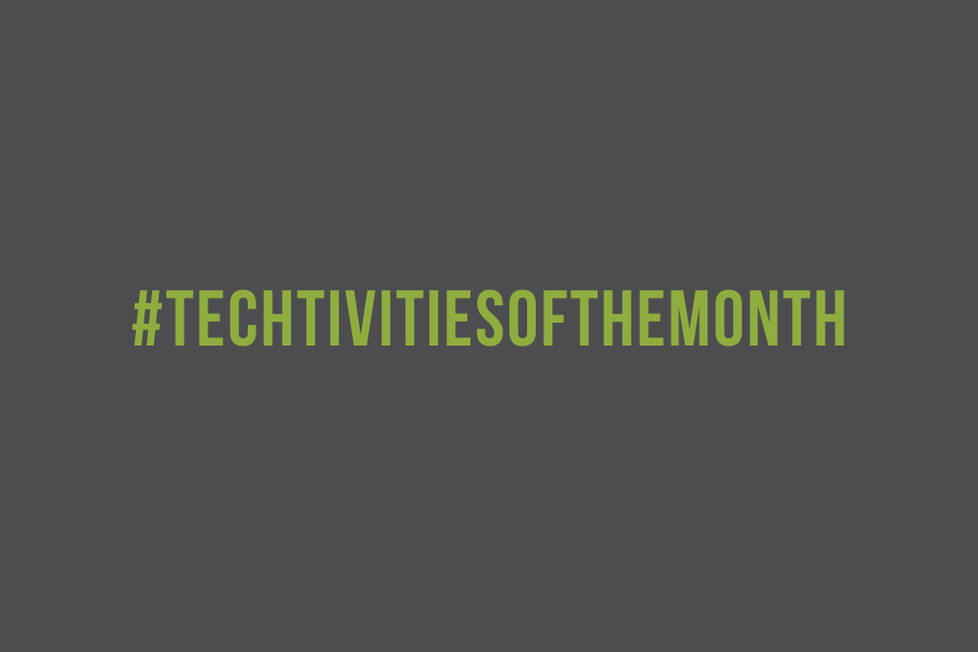 Techtivities Of The Month (small header)