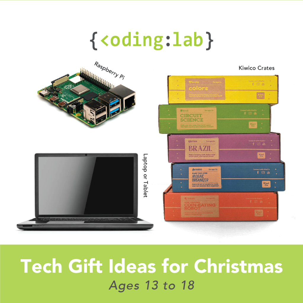 Tech Gift Ideas for Christmas - Ages 13 to 18
