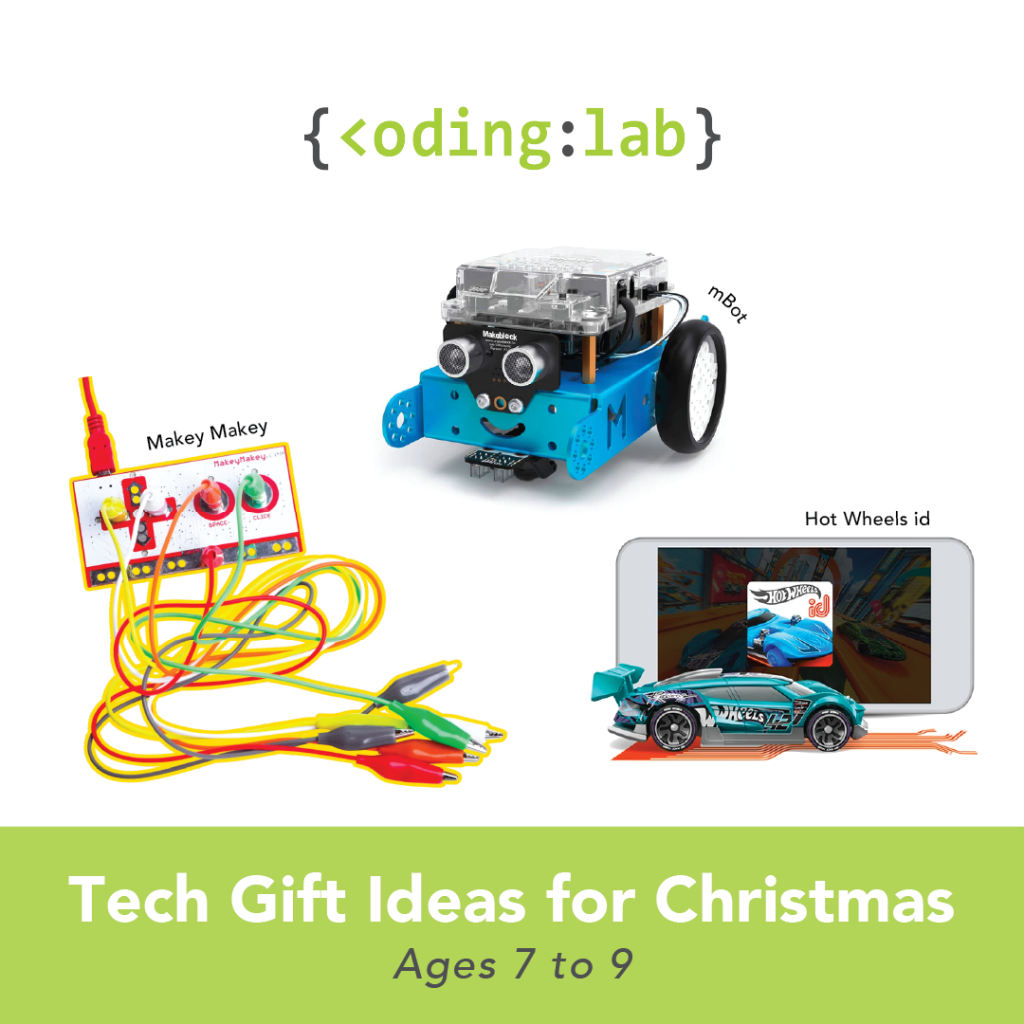 Tech Gift Ideas for Christmas - Ages 7 to 9