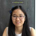 Coding Lab Achievement Photo Sarah