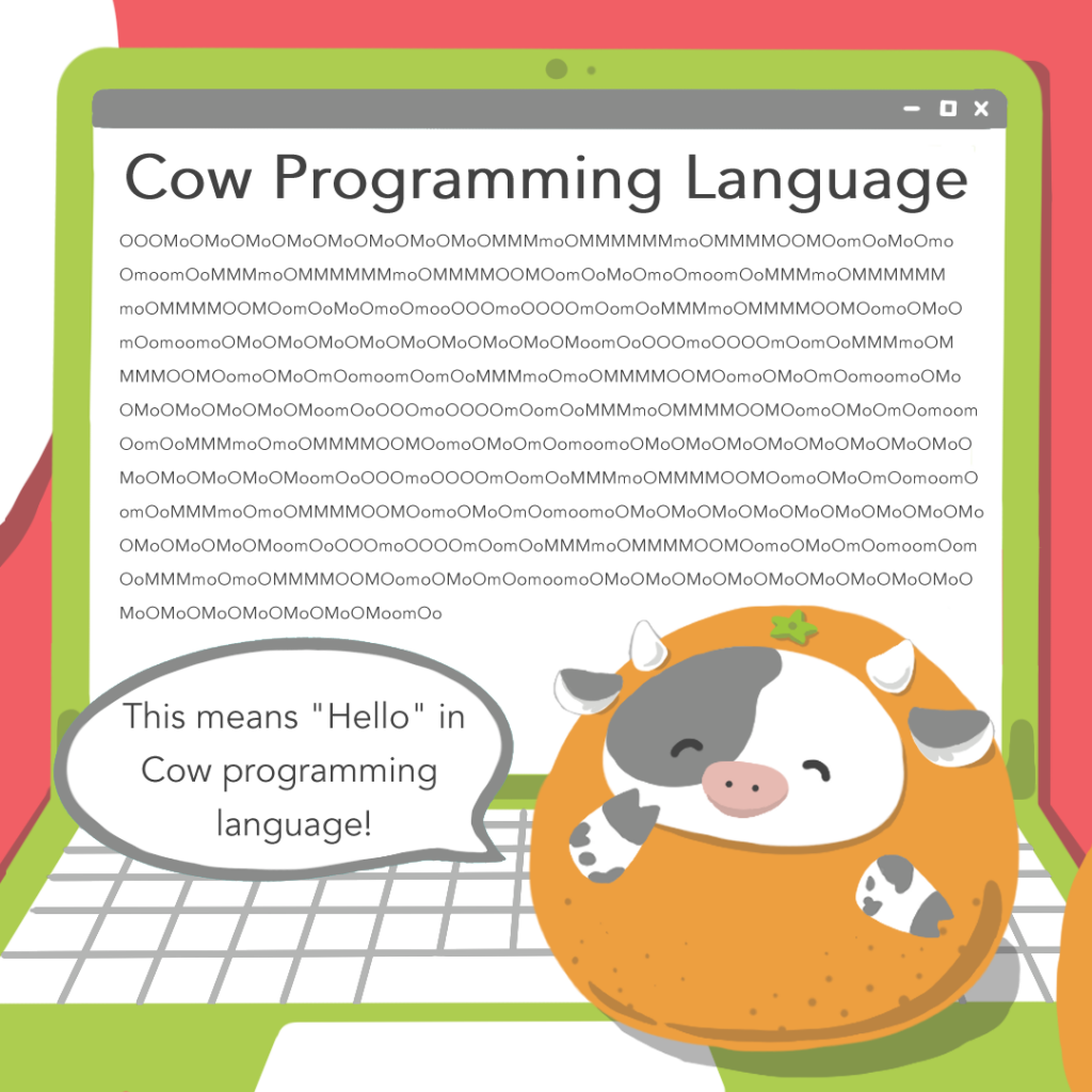 3 Fun (Programming) Facts for the Year of the Ox - Cow Programming Language