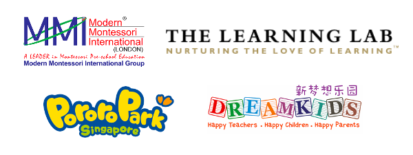 Trusted By Modern Montessori International, The Learning Lab, Pororo Park, Dreamkids