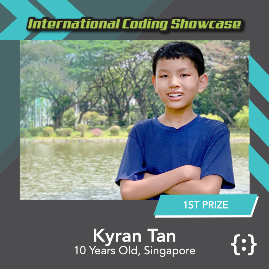 Image of Kyran ICS Python Ages 10-12