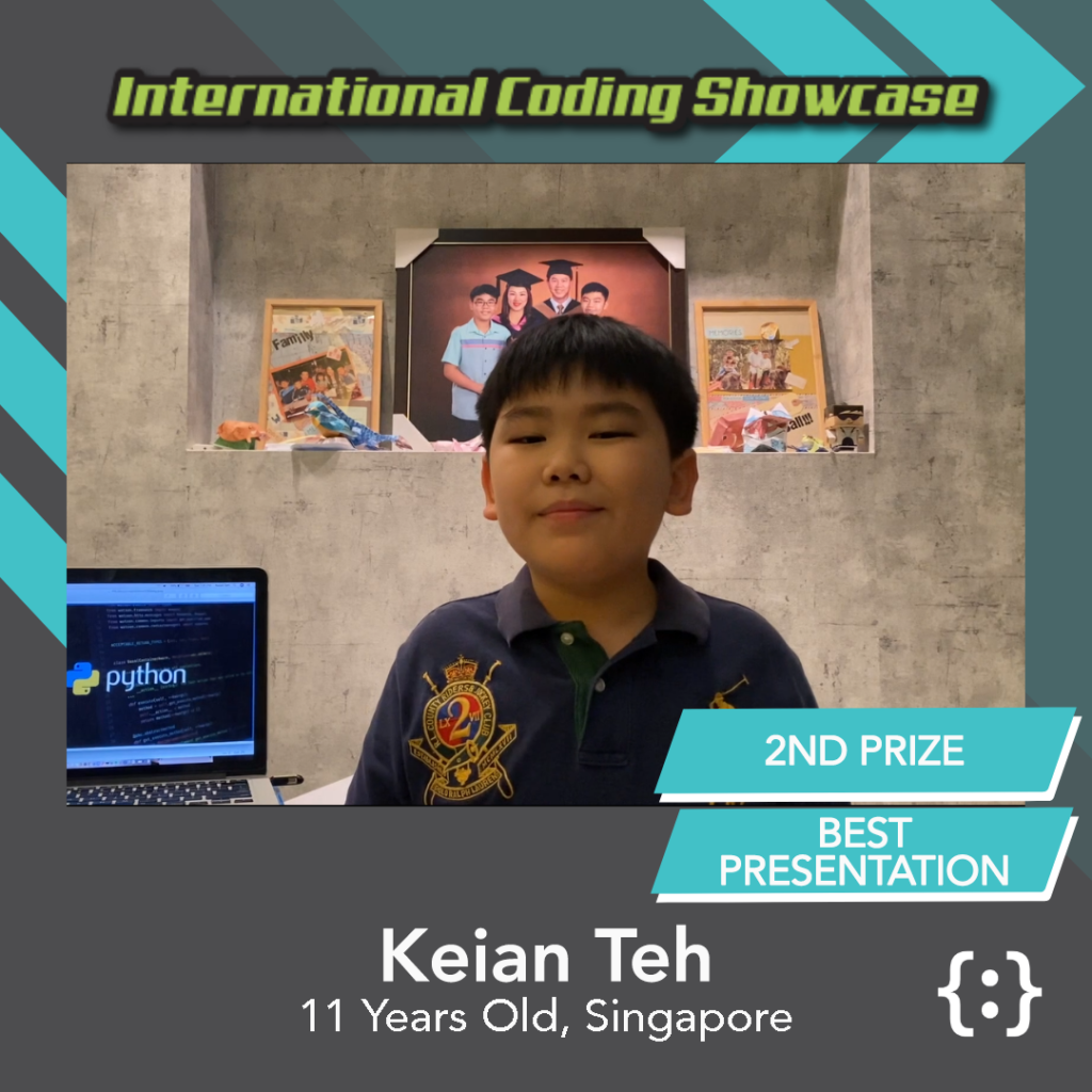 Image of Keian Teh ICS Python Ages 10-12