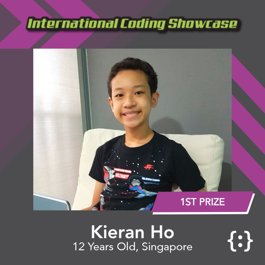 Image of Kieran Ho ICS Ages 13-18