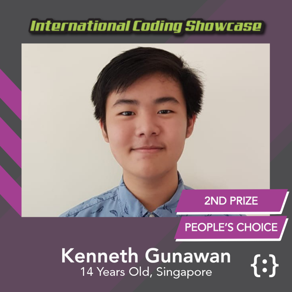 Image of Kenneth Gunawan ICS Python Ages 13-18