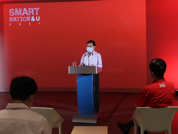 Smart Nation and U - Heng Swee Keat