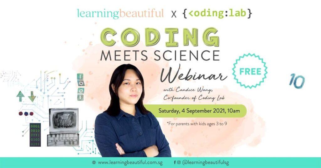 Coding Meets Science Webinar banner