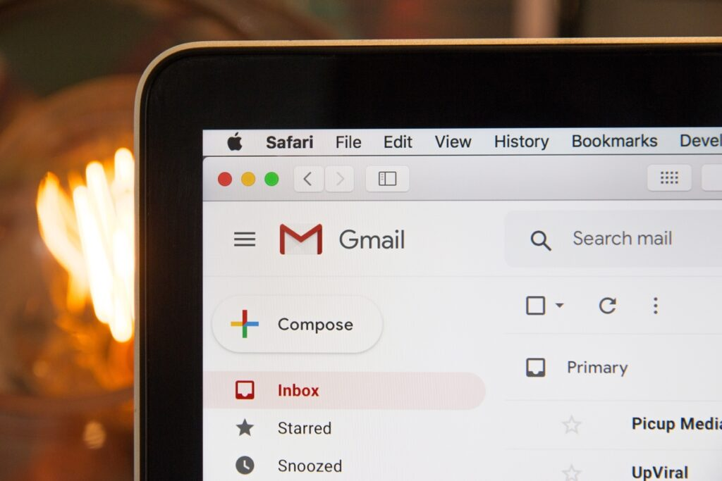 Image of emails